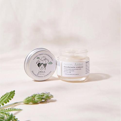 Desodorante Cremoso Nuvem Herbal | Natural e Vegano | Com Bicarbonato | 30g