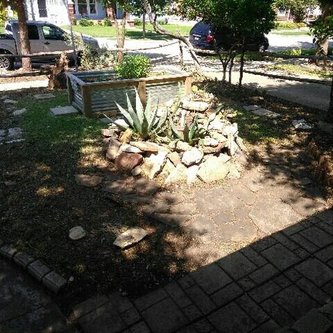 Landscape cleanup