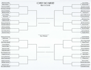 There It Is Pod Comedy Duo Bracket