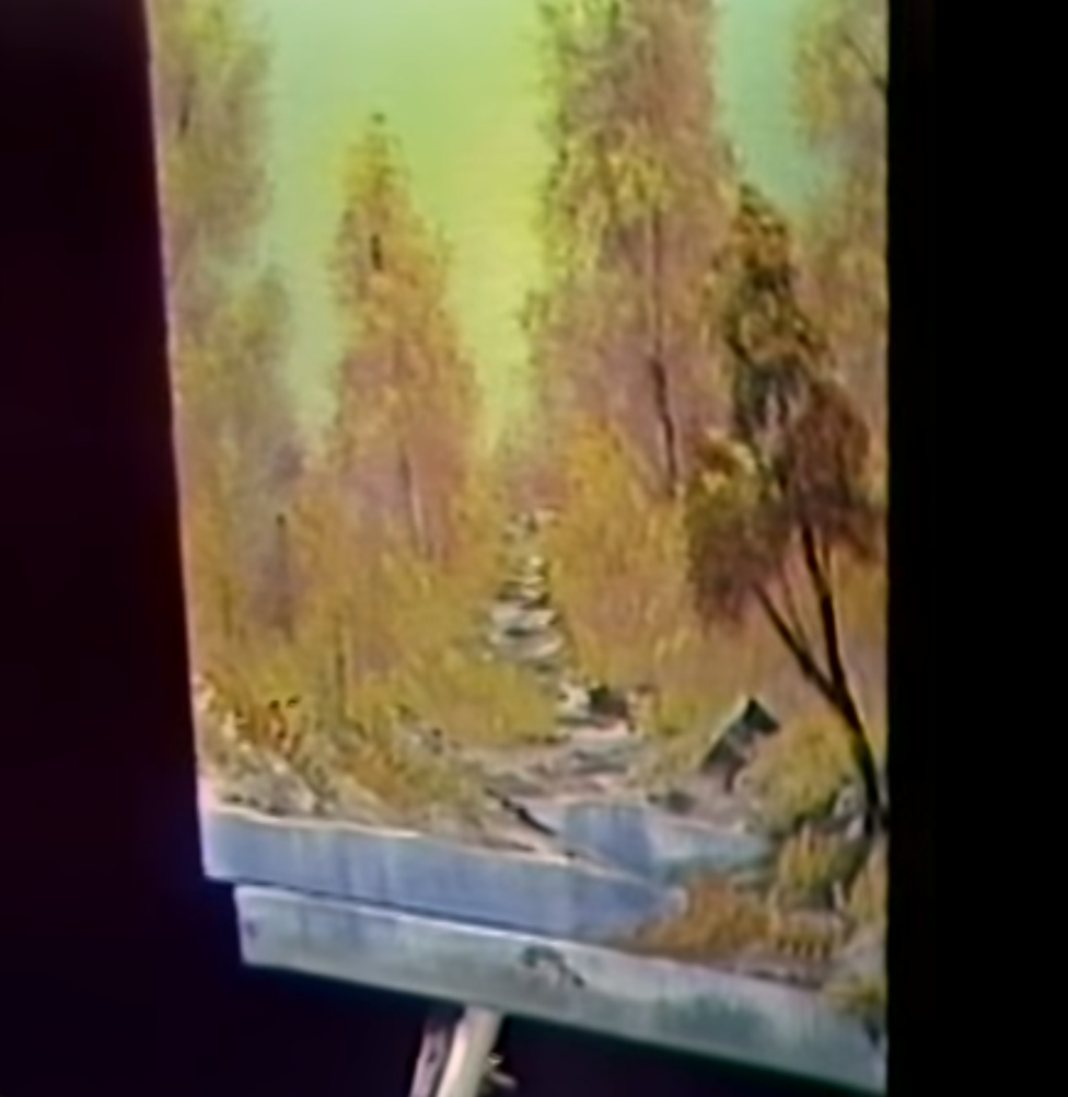 """Bob Ross's """"A Walk in the Woods"""""""