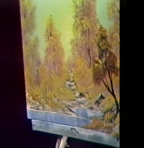 "Bob Ross's ""A Walk in the Woods"""