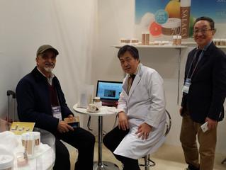 国際化粧品展に化粧品事業部が出展。大きな反響。