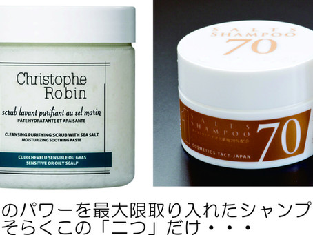 ほとんどのシャンプーは、水性成分と界面活性剤で作られています。しかし、このシャンプーは・・・