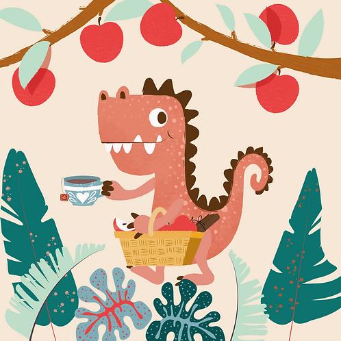 Apple Rex Herbal Tea