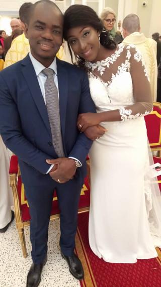 Mariage de Justin et Rakia à la paroisse