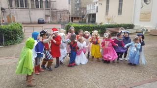 """""""Mardi Gras"""" à l'école du Bon Pasteur"""