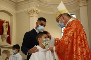 Confirmations et 3 premières communions, présidé par Mgr T.Verny 23 mai 2021