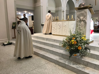 Messe en Rite Maronite célébrée par le Père Peter Kerolos