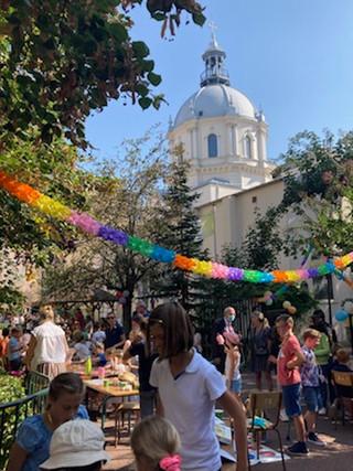 Grande fête traditionnelle des enfants à la paroisse /              16-09-2021