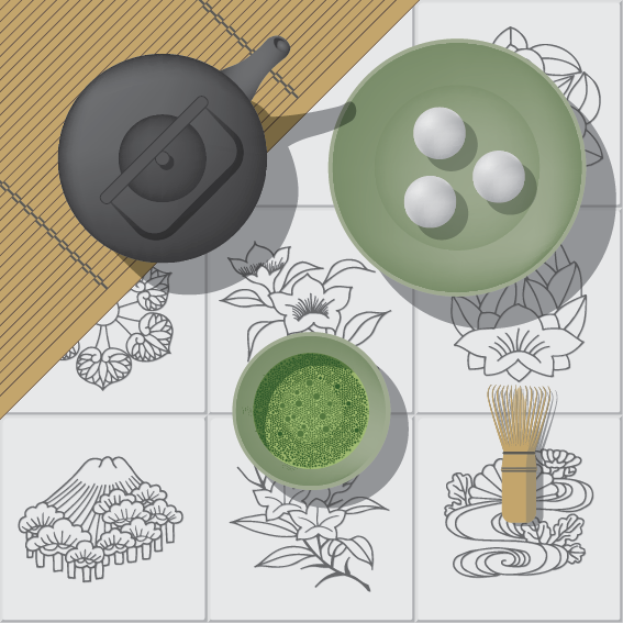 Japanese Matcha Green