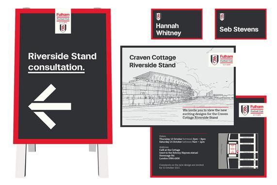 Fulham FC exhibition materials