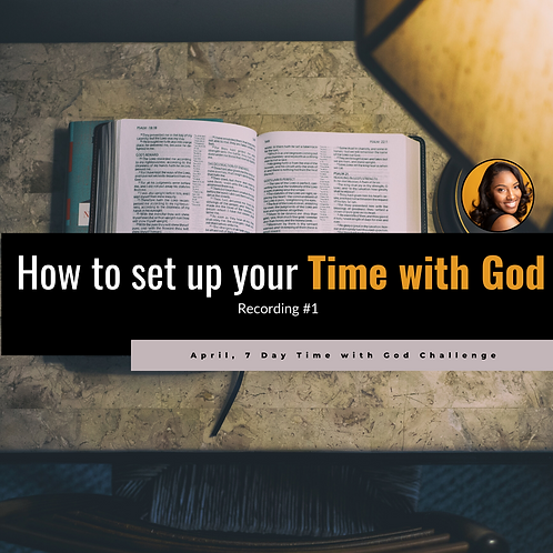 FULL Time with God Challenge + 2 Ebooks