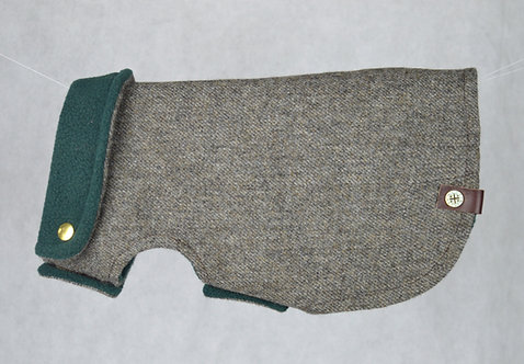 Tweed & Fleece Dog Coat