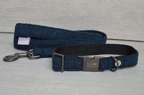 Herringbone British Tweed Collar