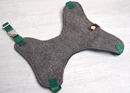 Dinky Dog Tweed Harness
