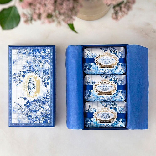 PORTUS CALE GOLD & BLUE SOAPS