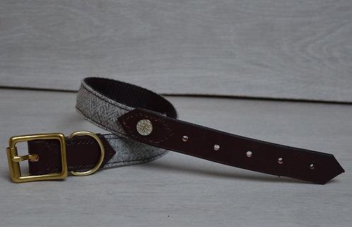Stone Half Leather Collar