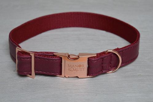 Bordeaux Faux Leather