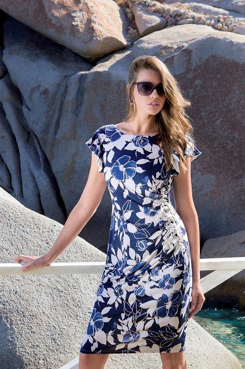 MICHAELA LOUISA LACE WAIST DRESS