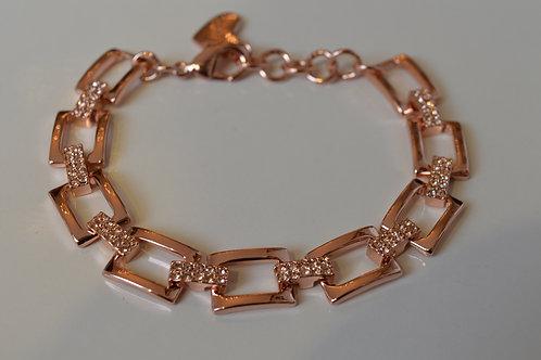 Rectangular Chain Braclet