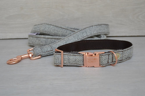 Stone British Tweed Collar