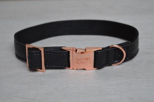 Black Faux Leather Set