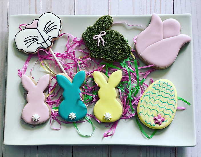 3/27 Spring/Easter Intro to Cookie Decorating Workshop