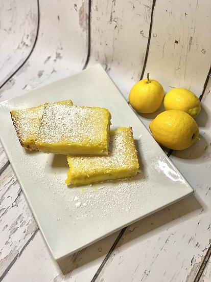 Lemon Bars (full batch and singles)