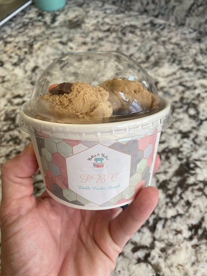 Edible PBC Cookie Dough Scoops
