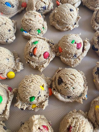 Edible M&M Cookie Dough
