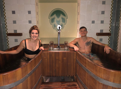 Beer Bathing in Budapest | How to Use AirBnB Experiences