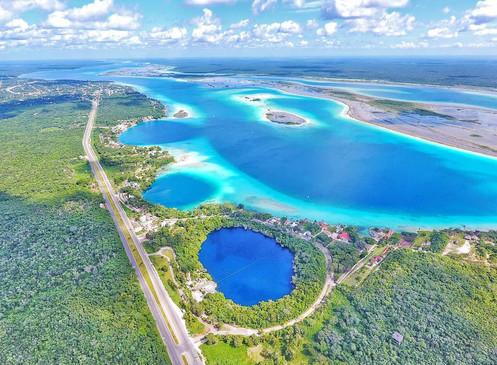 Seven Shades of Blue | Bacalar Lagoon, Bacalar, Mexico