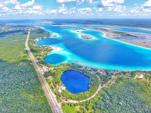 Seven Shades of Blue | Bacalar Lagoon, Bacalar, Mexico