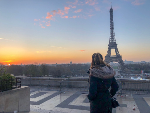 The Eiffel Tower at Sunrise, Paris | 6:42 AM