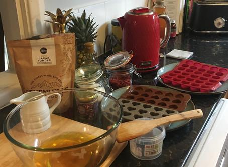 Recipe Alert! Raw Chocolate Hearts 🤎💝