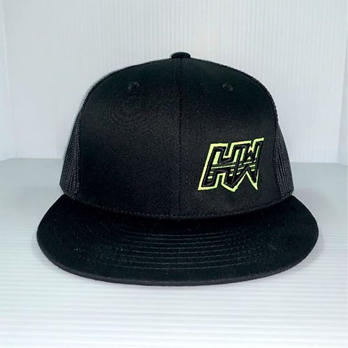 HW Hat Safety Green/Black