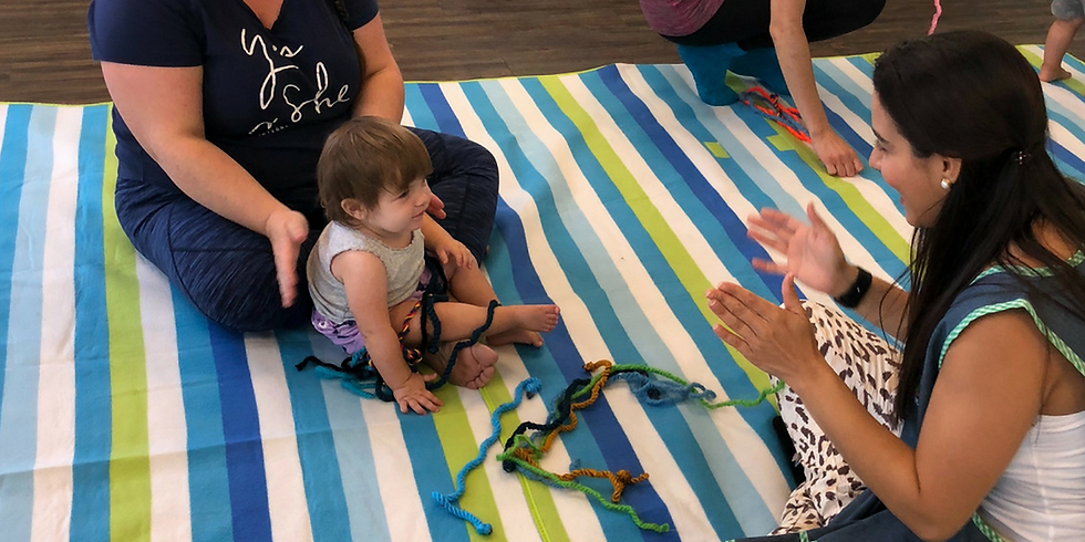 Bilingual Child development play class