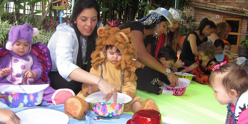 HALLOWEEN LEARNING TO PLAY CLASS at Babies in Bloom