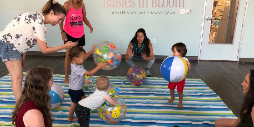 Child development play class at Babies in Bloom