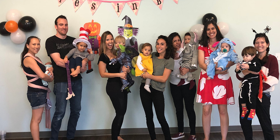 HALLOWEEN Bilingual Play and  Learn CLASS at Babies in Bloom