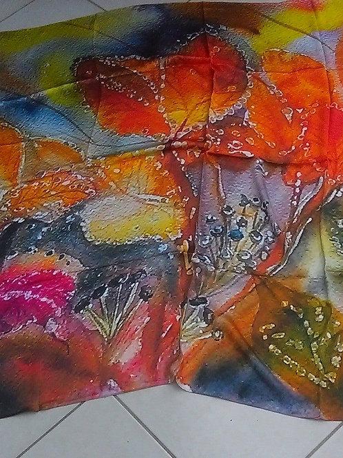 Silk scarf  135x135cm