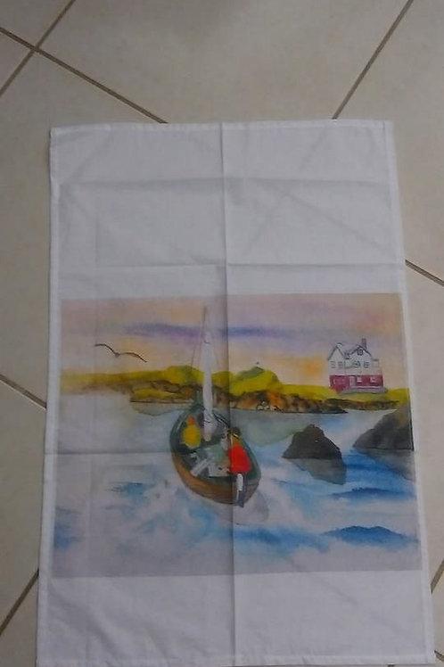 Kitchen towel  50x70  cotton/linen