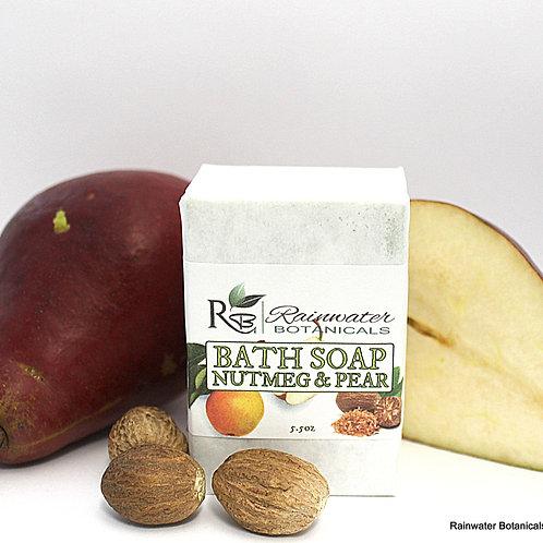 Nutmeg & Pear Vegan Palm Free Soap