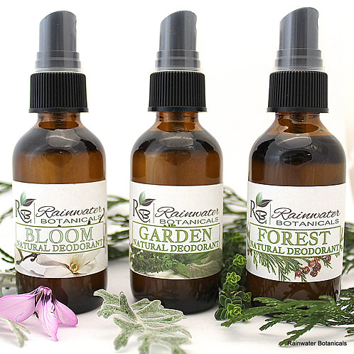 All Natural Spray Deodorant with White Sage