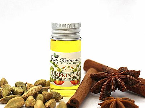 Pumpkin Chai natural perfume oil