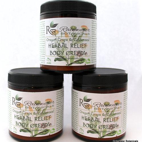 Oregon Grape Root & Golden Seal Herbal Cream