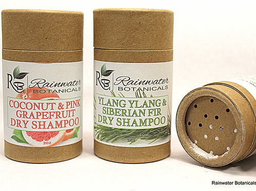 Natural Dry Shampoo for all hair types! Zero Waste