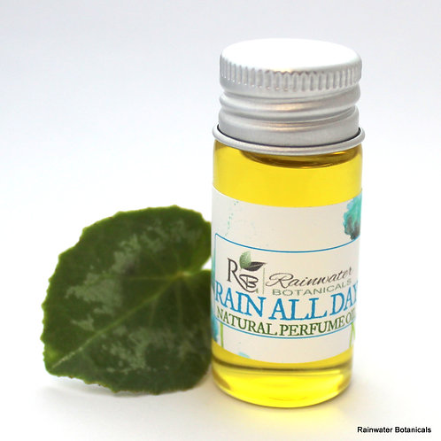 Rain All Day Natural Perfume Oil