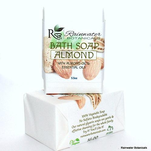 Sweet Almond Soap! Vegan, Palm Free!