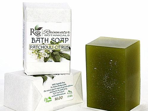 Patchouli Citrus Natural Bath Soap